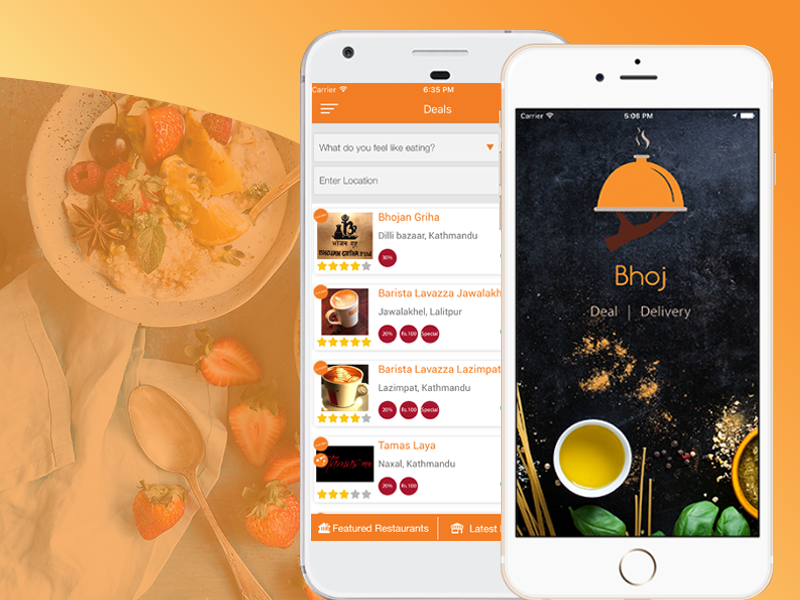 BhojDeals Food Delivery App