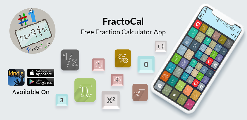 FractoCal: Free Fraction Calculator
