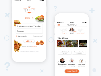 Kooc – Food Delivery App